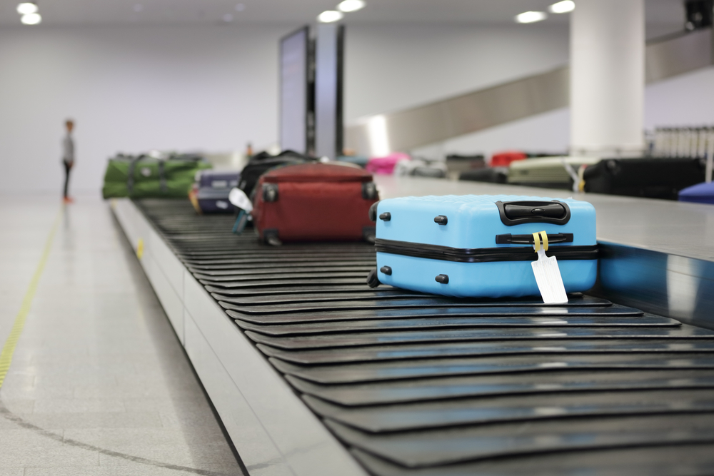 luggage taged